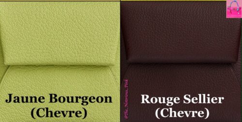 Jaune Bourgeon and Rouge Sellier. Photo via @The_Notorious_Pink