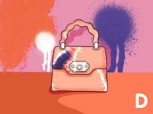 The ABCs of Designer Bags: D is for Dye