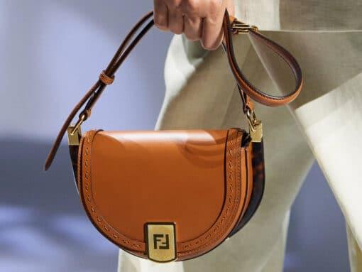 According to Fendi, the Saddle Bag is Back