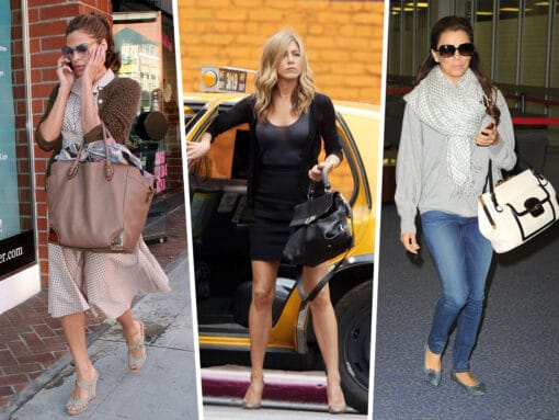 Throwback Thursday: Celebs and Their Ferragamo Bags