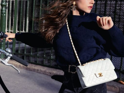 Chanel Celebrates the 11.12 Bag with the Chanel Iconic Campaign