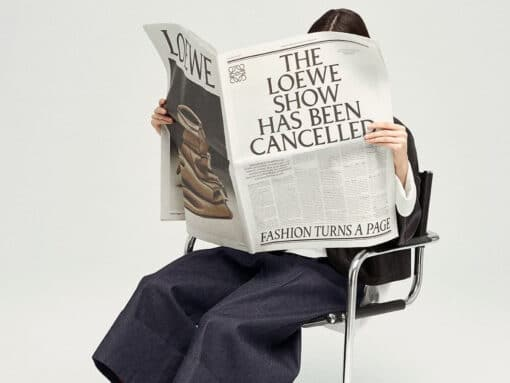 The Loewe Show Has Been Cancelled: Presenting a Show in News for Fall 2021