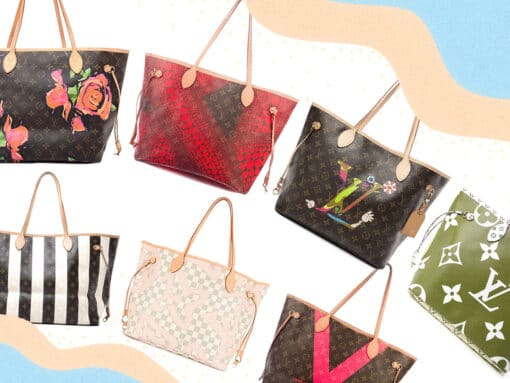 The Louis Vuitton Neverfull Through the Ages
