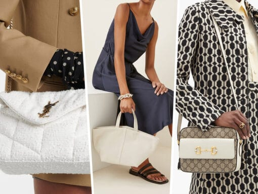 The Best White Bags for Spring 2021