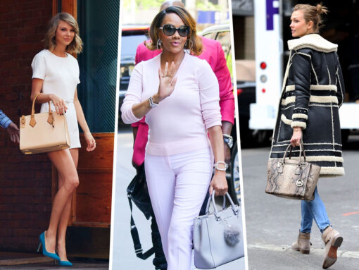 Throwback Thursday: Celebs and Their Michael Kors Bags