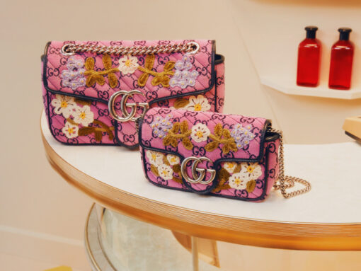 Gucci Introduces a Colorful Take on Classic GG Monogram