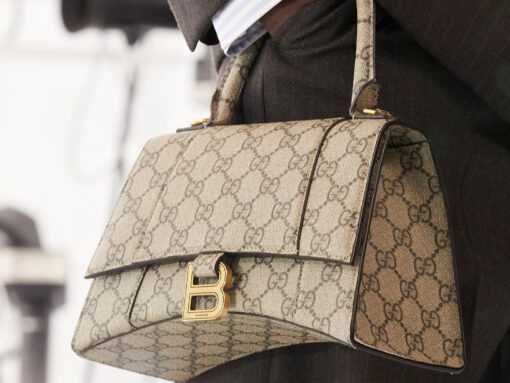 """What Does Gucci """"Hacking"""" Balenciaga Mean for the Future of Fashion?"""