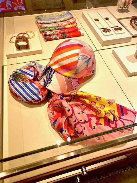 Silk Baseball Cap at the Madison Avenue boutique. Photo via @The_Notorious_Pink