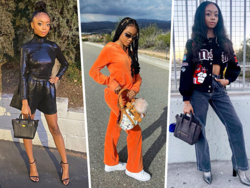 Skai Jackson Loves to Show Off Her Bags on Instagram