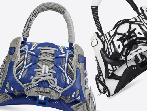 Balenciaga's Latest Bag is Part Handbag, Part…Sneaker?