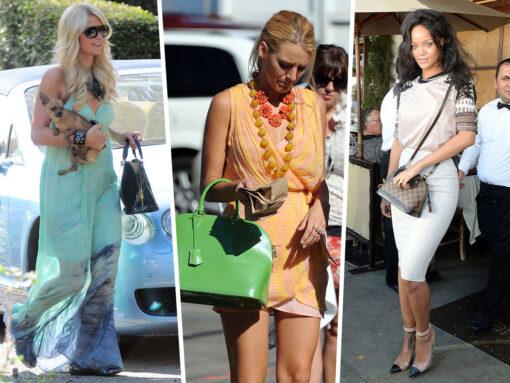 Throwback Thursday: Celebs and Their Louis Vuitton Alma Bags