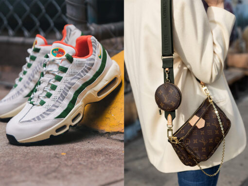 The Sneaker and Bag Pairings I'm Loving Right Now