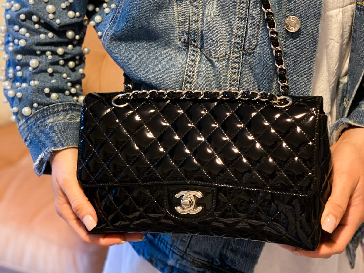 Chanel Patent Leather Bag