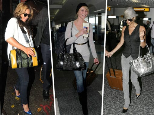Throwback Thursday: Celebs and Their Burberry Bags