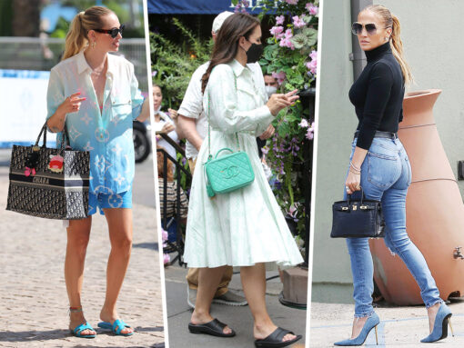 Celebs Show Off Bags from Dior, Chanel, Valentino and More