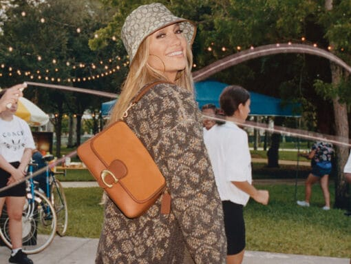 Coach's With Friends Fall 2021 Campaign Introduces a New Tabby Bag