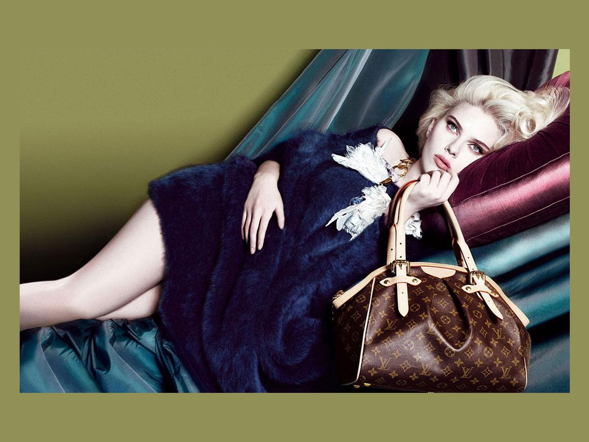 Louis Vuitton Tivoli Scarlett Johansson