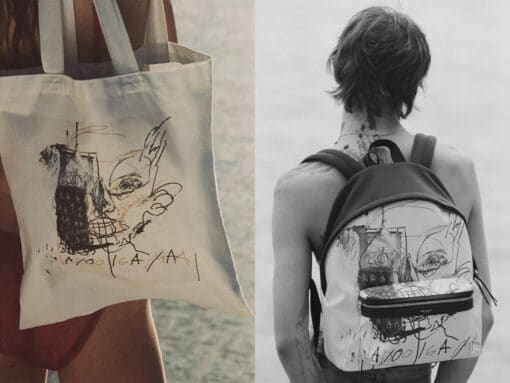 Saint Laurent is the Latest Designer to Honor the Late Jean-Michel Basquiat
