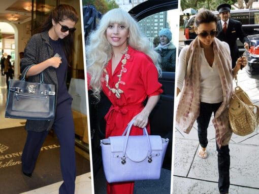 Throwback Thursday: Stars and Their Versace Bags