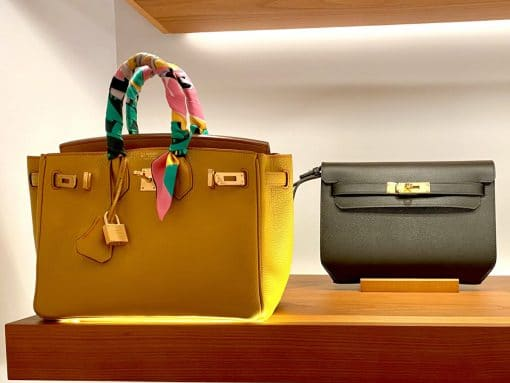 A Closer Look: The Hermès Kelly Dépêches 25 Pouch