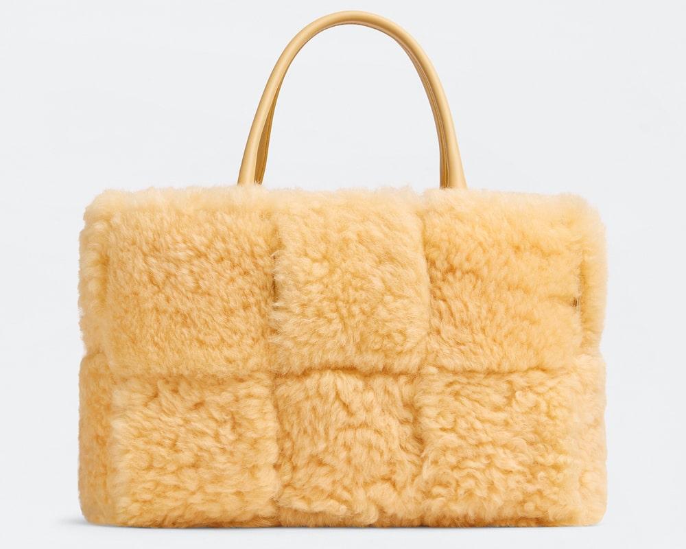 Bottega Veneta Shearling Arco Bag