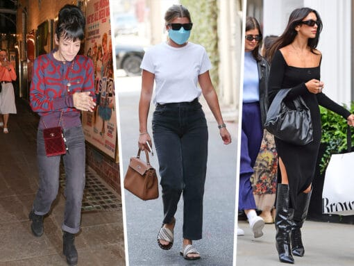 Celebs Sail Through the End of Summer With Bags from Bottega Veneta and More