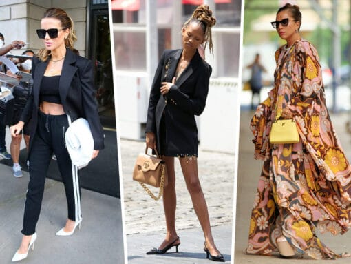 Celebs Sizzle During the Height of Summer With Valentino, Louis Vuitton and More