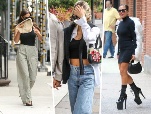Celebs Try to Remain Incognito With Bags from Gucci, By Far and Beyond