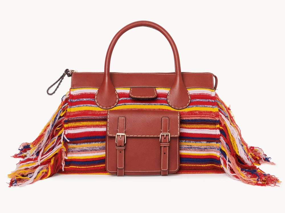 Chloe Recycled Cashmere Edith Bag