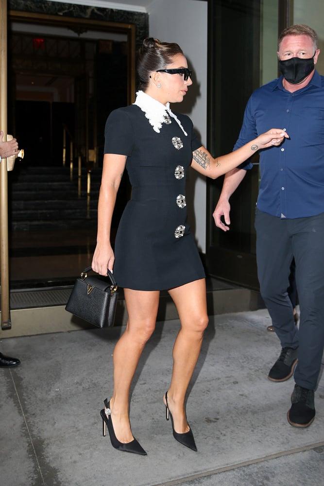 Lady Gaga Louis Vuitton Capucines