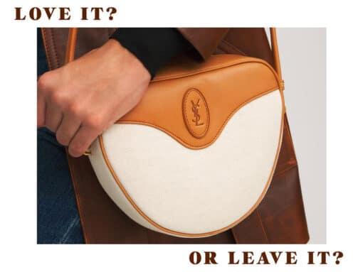 Love It or Leave It: The Saint Laurent Sac Cœur Bag