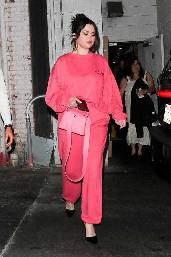 Selena Gomez Louis Vuitton Capucines