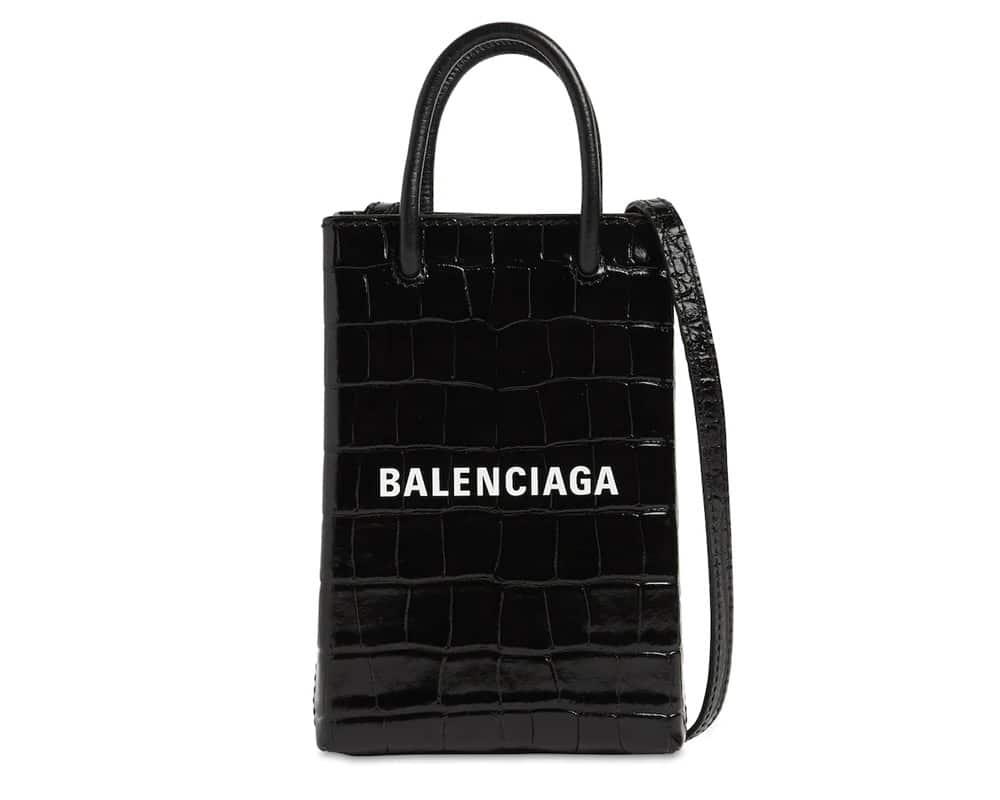 バレンシアガ電話バッグ