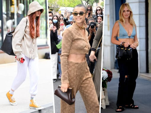 Celebs Jet to Italy for MFW With Their Best Bags in Tow