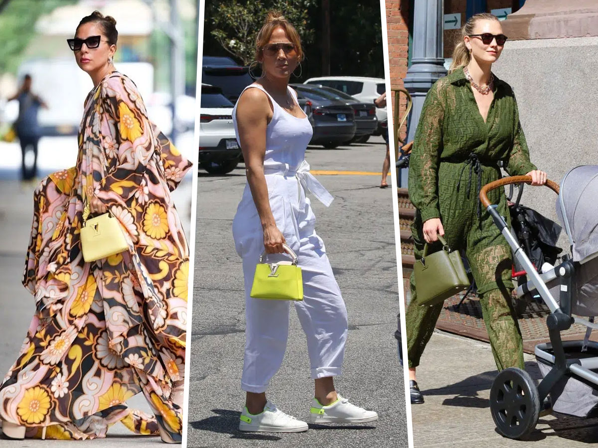 Celebrities and their LV Capucines