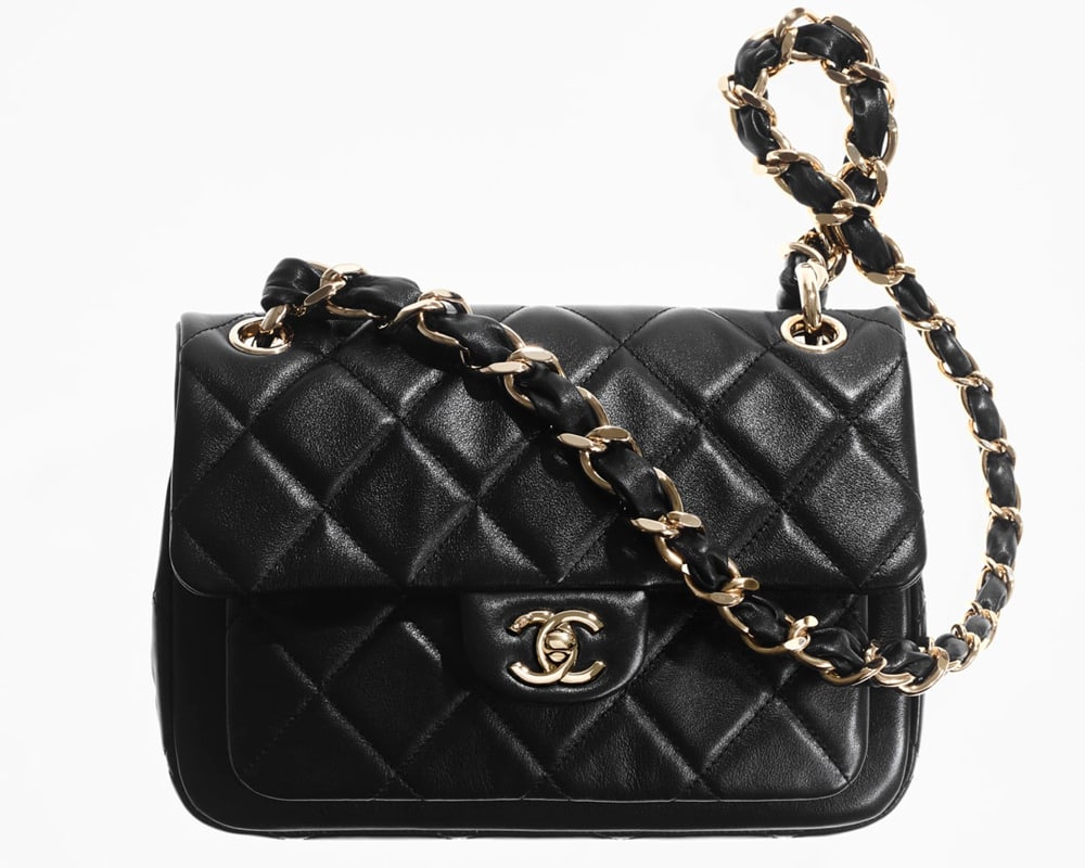 Chanel Mini Flap With Pocket