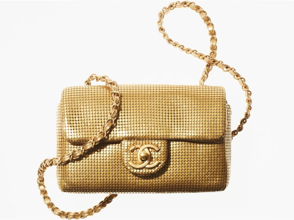 Chanel Mini Metallic Flap