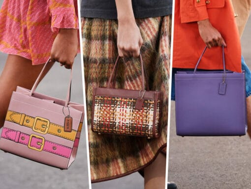 Coach Reimagines Its Cashin Carry Tote for Spring 2022