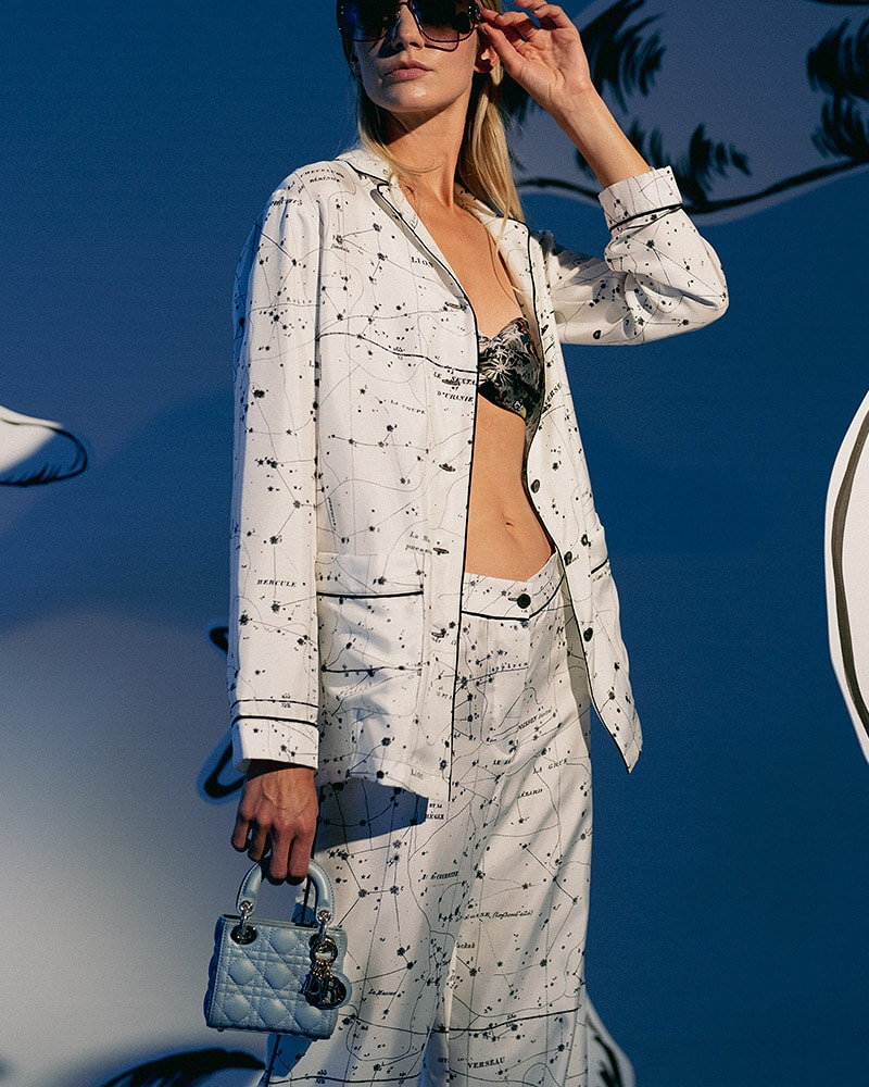 Dior Zodiac Micro Lady Dior on Model