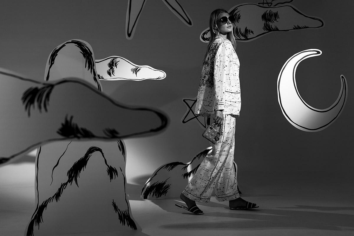Dior Zodiac and Constellation Setting