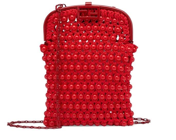 フェンディバゲット電話バッグ