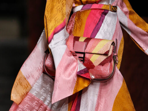 Fendi Focuses on the Glitz and Glamour of Dressing Up for Spring 2022