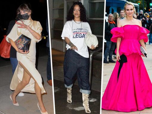 Celebs Shine With Handbag Picks from Bottega Veneta, Chanel and More