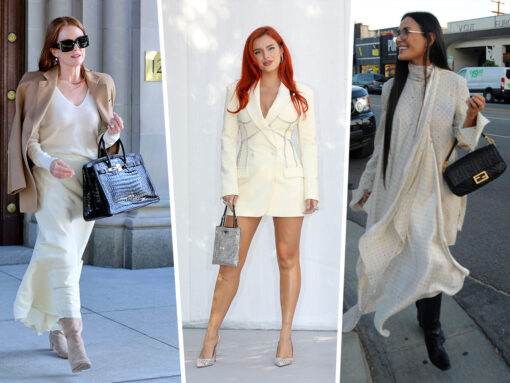 Celebs Carry a Variety of Picks from Off-White, Fendi and More