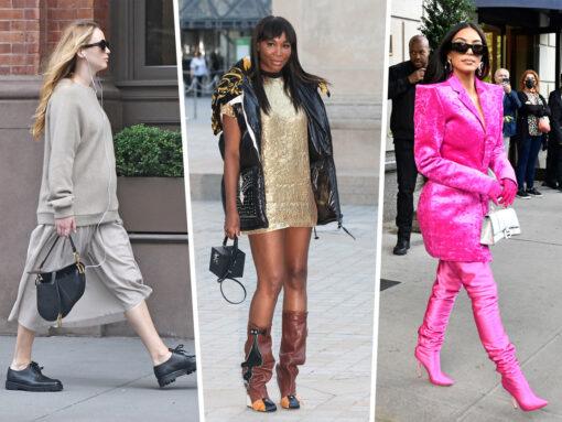 Celebs Seen Around the World Carry Balenciaga, Dior and More