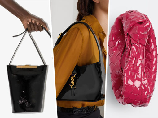 Are Patent Bags Making a Comeback?