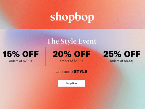 Refresh Your Closet This Fall and Save at Shopbop's The Style Event