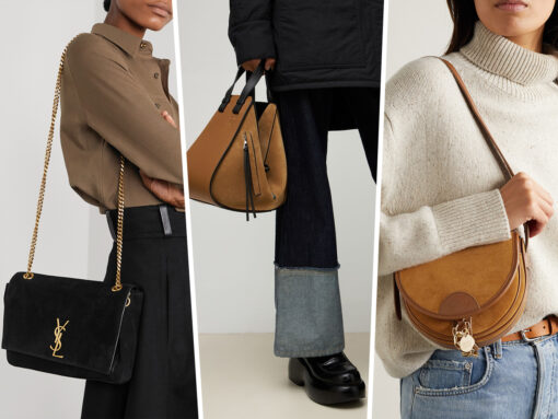 Suede Bags Are Trending for Fall 2021