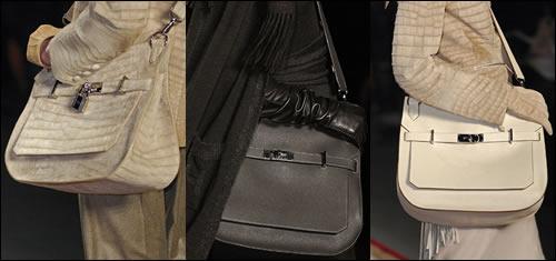 hermes runway handbags